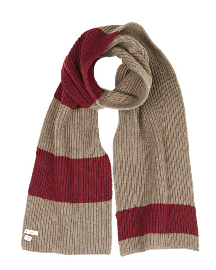 Camel - Wool Scarf by 991 Japan - KAZUNA