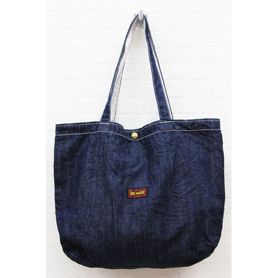 BIG SMITH Denim original tote bag - KAZUNA