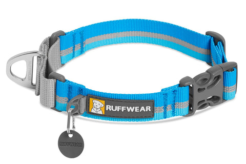 WEB REACTION® MARTINGALE COLLAR - collar martingale de tela con clip