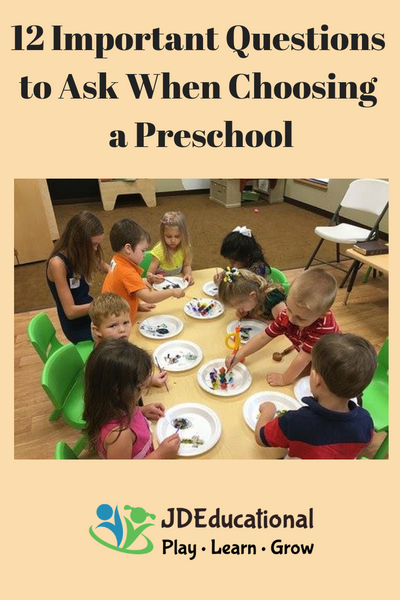 12 Important Questions to Ask When Choosing a Preschool