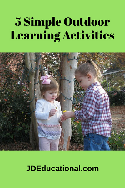 5 Simple Outdoor Learning Activities