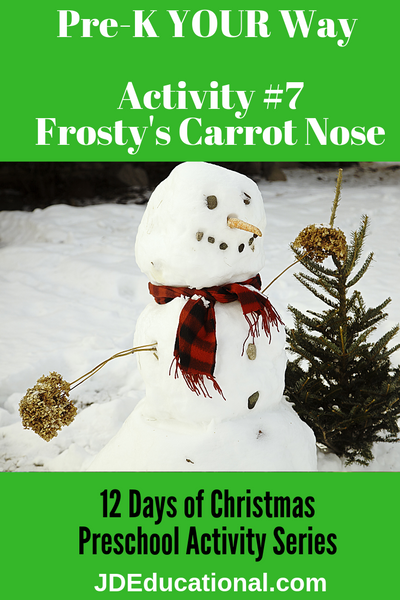 Activity #7: Frosty's Carrot Nose