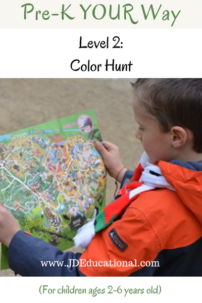 Pre-K YOUR Way: Color Hunt