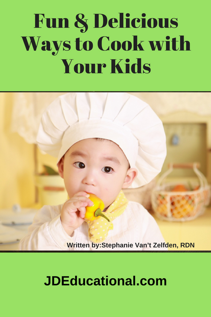 Fun & Delicious Ways to Cook with your Kids