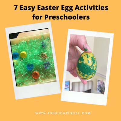 7 Easy Easter Egg Activities for Toddlers and Preschoolers