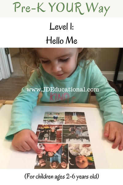Pre-K YOUR Way: Hello Me