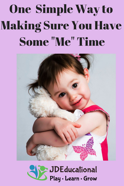 "One  Simple Way to Making Sure You Have Some ""Me"" Time When You Have Young Children"