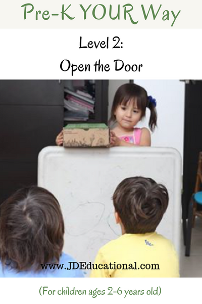 Pre-K YOUR Way: Open the Door