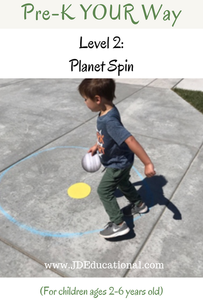 Pre-K YOUR Way: Planet Spin