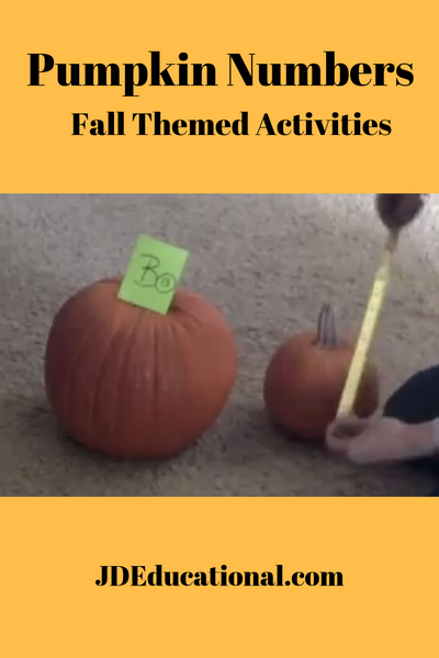 Pumpkin Numbers (with Video)