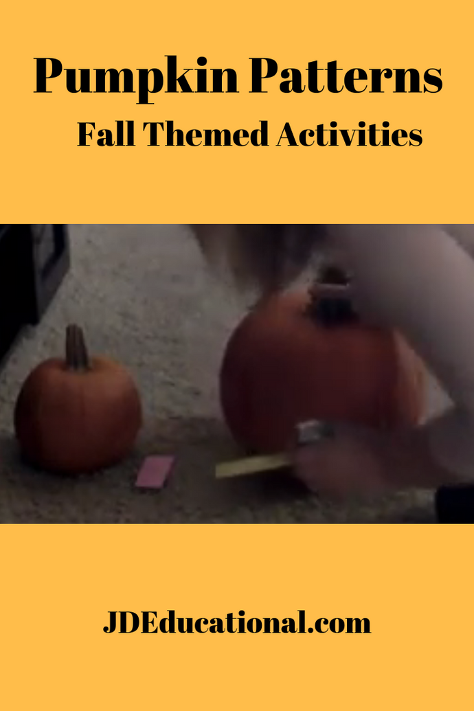 Pumpkin Patterns (with video)