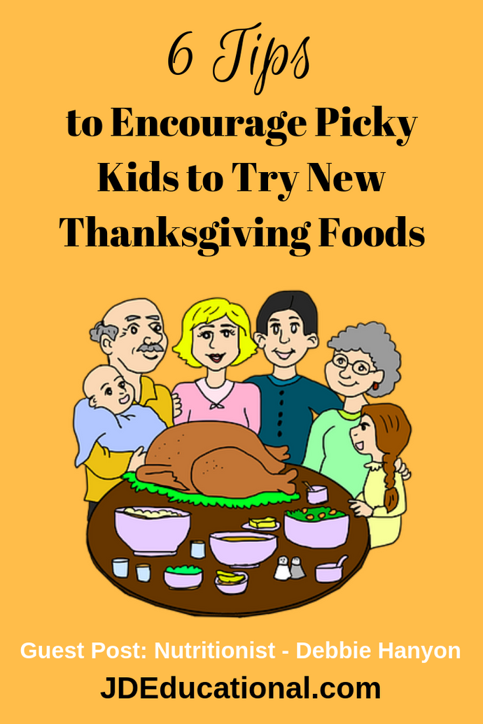 6 Tips to Encourage Picky Kids to Try New Thanksgiving Foods