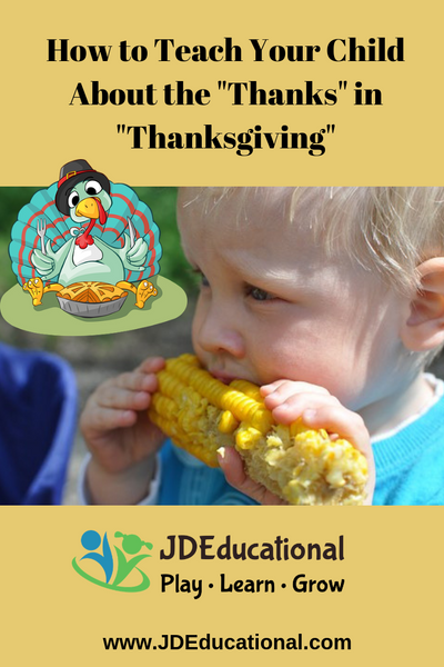 "Teach Your Child About the ""Thanks"" in ""Thanksgiving"" with this Child-Friendly Activity"