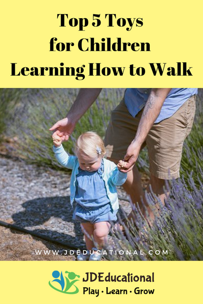 Top 5 Toys for Children Learning How to Walk