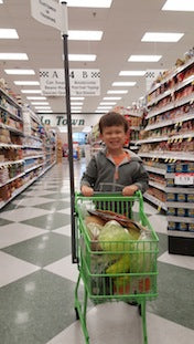 5 Tips on Grocery Shopping with Kids