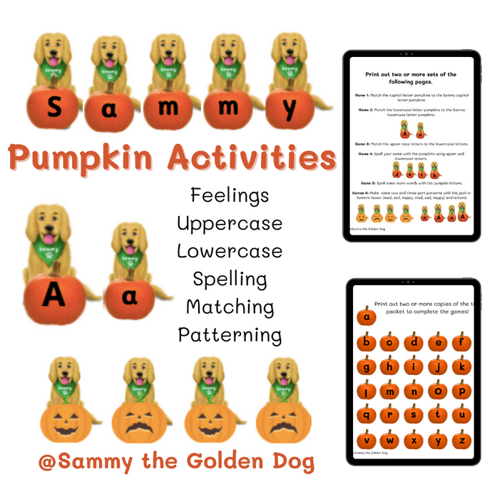Sammy's Pumpkin Activities