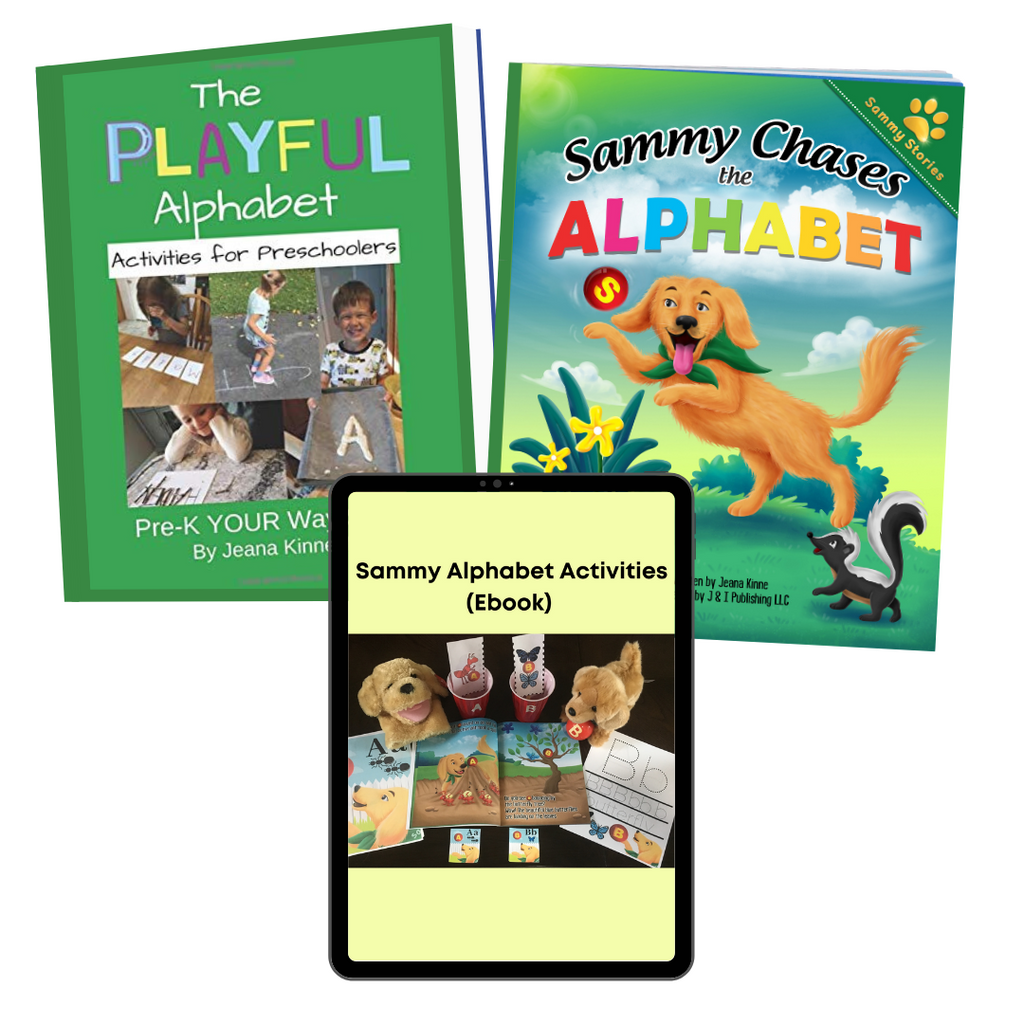 Sammy Alphabet Bundle (Free Shipping)