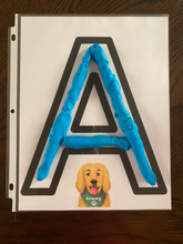 Sammy's Play Dough Alphabet