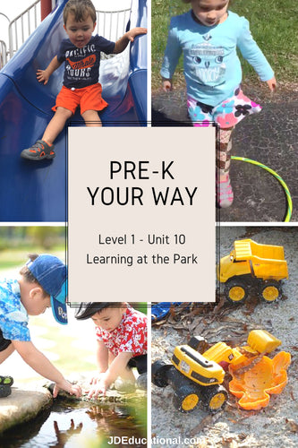 Level 1: Unit 10: Learning at the Park Academic Activities & Parent Guide: Transitioning to New Places