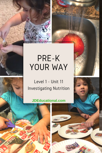 Level 1: Unit 11: Investigating Nutrition Academic Activities & Parent Guide: Trying New Foods