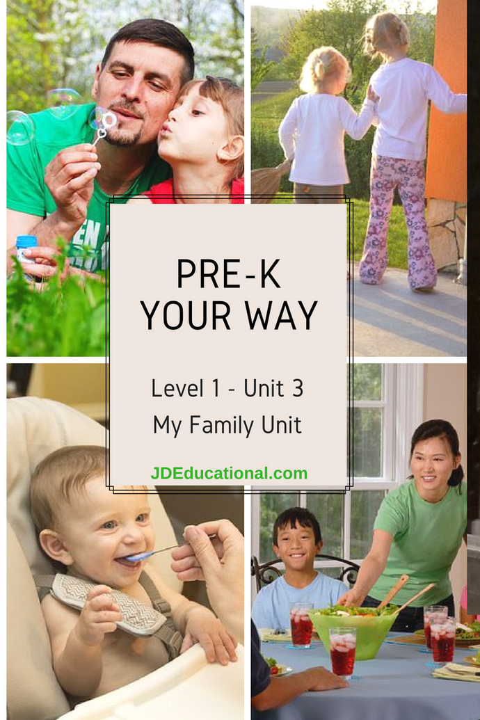 Level 1: Unit 3: All About My Family Activities