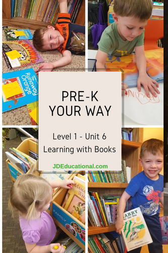 Level 1: Unit 6: Learning with Books Activities