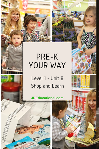 Level 1: Unit 8 - Learning at the Store Games & Activities