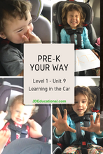 Level 1: Unit 9: Learning in the Car Activities