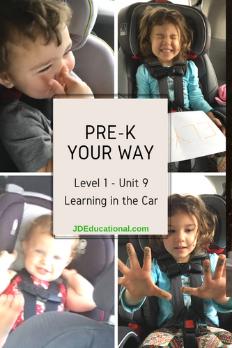 Level 1: Unit 9: Learning in the Car Academic Activities & Parent Guide: Preparing for Travel with Children