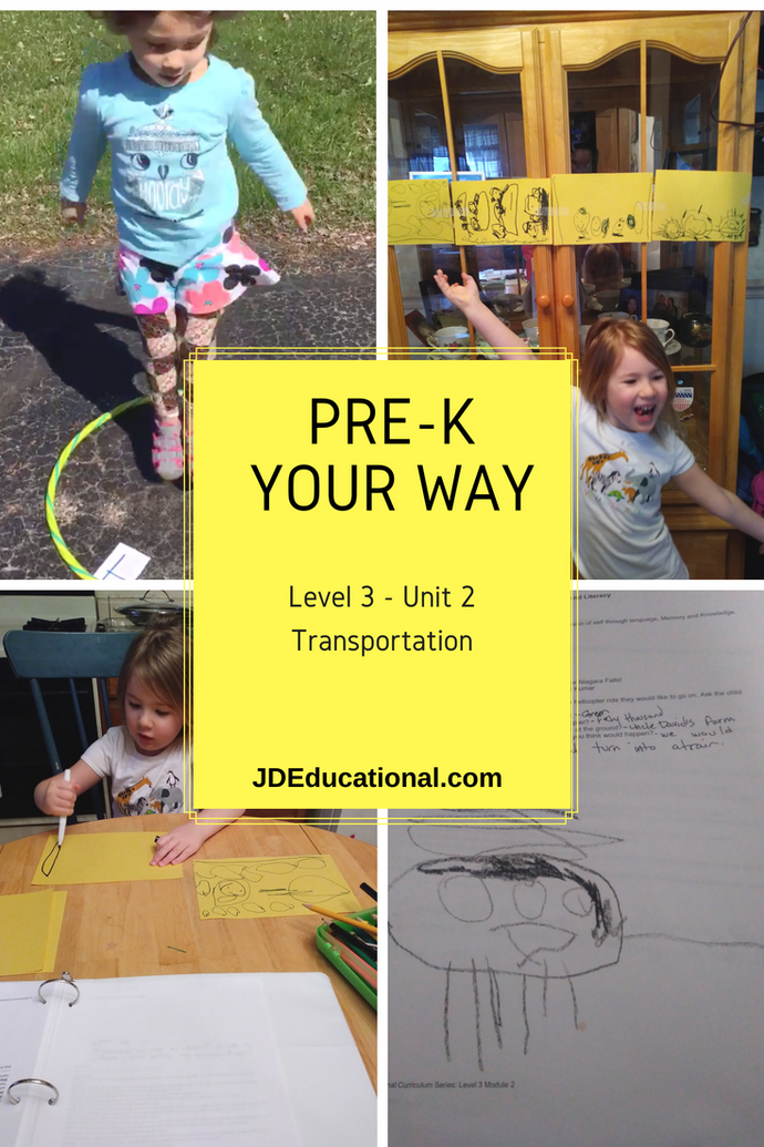 Level 3: Unit 2: Transportation Activities & Project