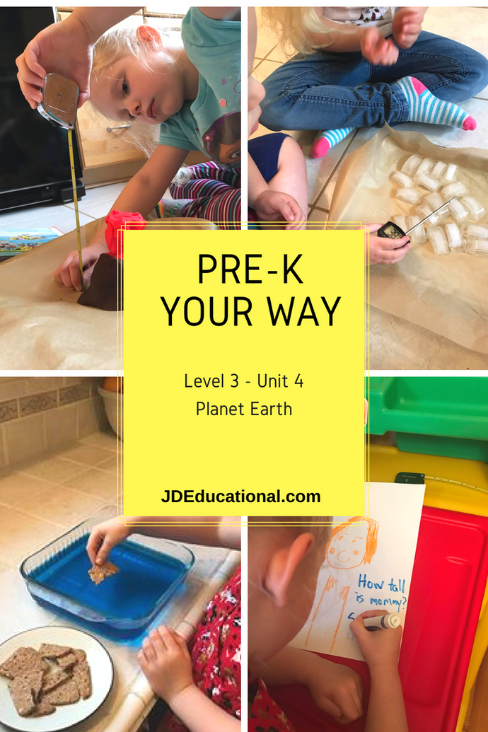 Level 3: Unit 4: Planet Earth Themed Academic Activities; Project - Discovering the Earth's Layers