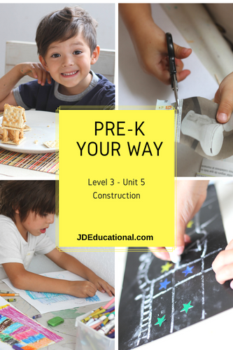 Level 3: Unit 5: Construction Themed Academic Activities; Project - Building Components and Design