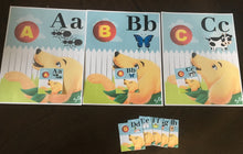 Sammy Alphabet Bundle with Sammy Plush (Free Shipping)