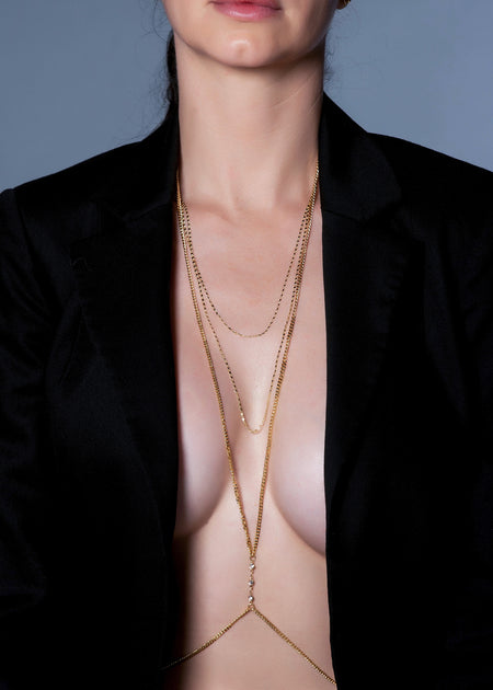 18K Gold Plated Body Chains