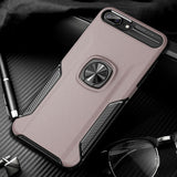 Luxury Leather Shockproof Case For iPhone Multiple Models With Car Magnet - StoreFour