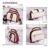 HJPHOEBAG Luxury women's handbag fashion designer shoulder messenger bag ladies pu leather shell bag Bolsas Feminina YC332