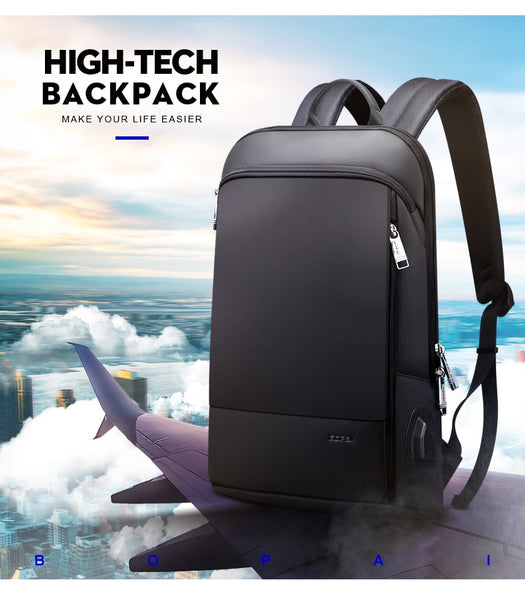 "Unisex Slim Light Weight 15"" Laptop Backpack: Business/School/Travel - StoreFour"