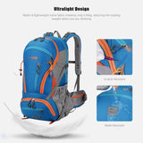HQ Ergonomic Outdoors Enthusiasts Backpack: Travel, Hiking & More