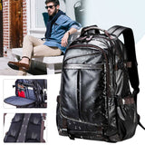 "Men's Synthetic Leather 14""-16"" Laptop Backpack: Business/School/Travel - StoreFour"