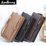 Men's Leather Long Zipper Wallet/Phone Case: All Important Articles