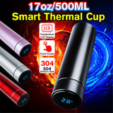 Stainless Steel Thermos with Temperature LCD Touch Display: Everywhere - StoreFour