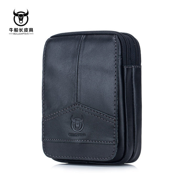 Men's Brand Genuine Leather Versatile Wallet / Phone Case