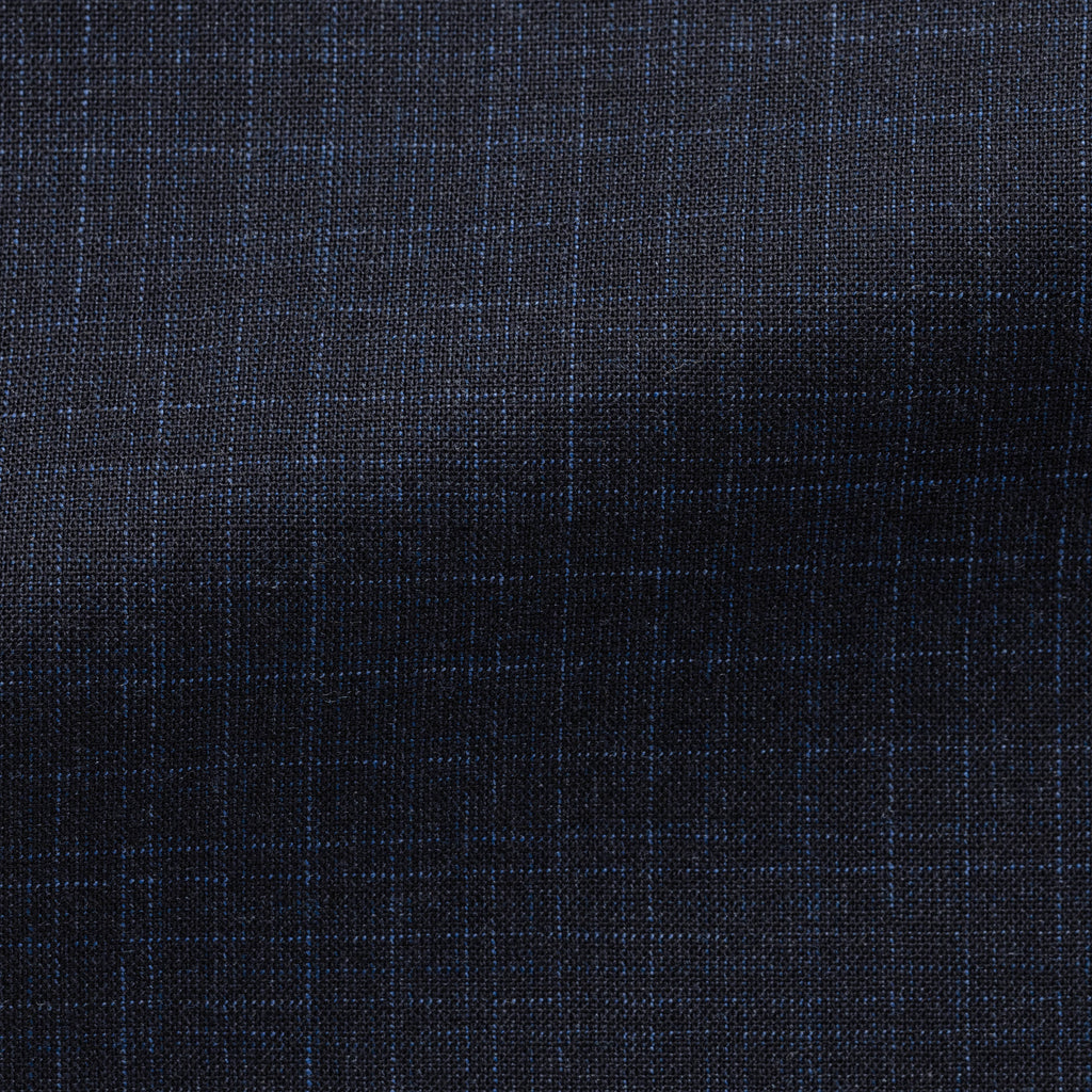NEAPOLITAN BLUE STRETCH WOOL