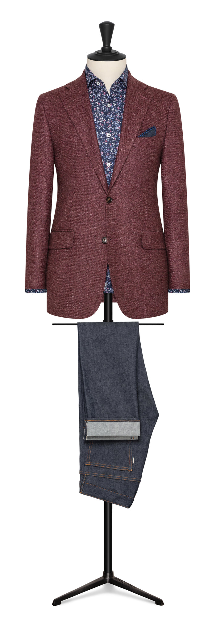 Wool, Silk & Linen Jacket by Solbiati