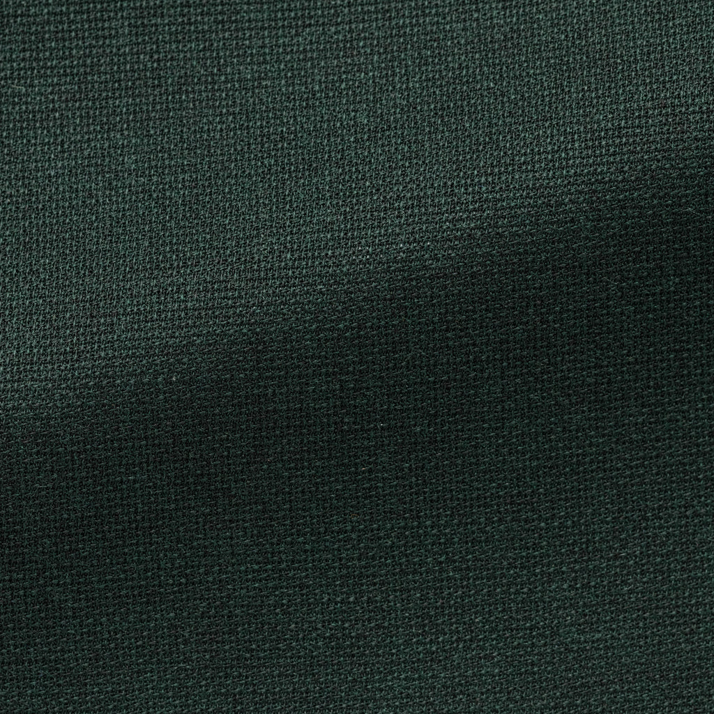 FOREST GREEN STRETCH WOOL BLEND