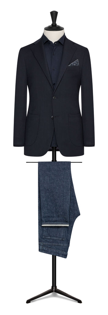 INDIGO STRETCH WOOL