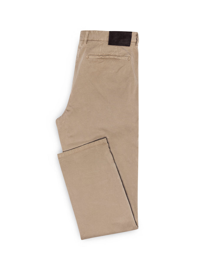 SAND STRETCH CHINO