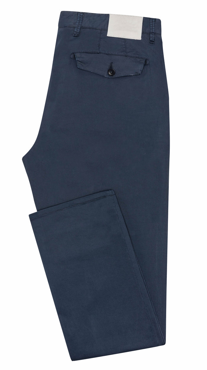 DARK BLUE STRETCH CHINO