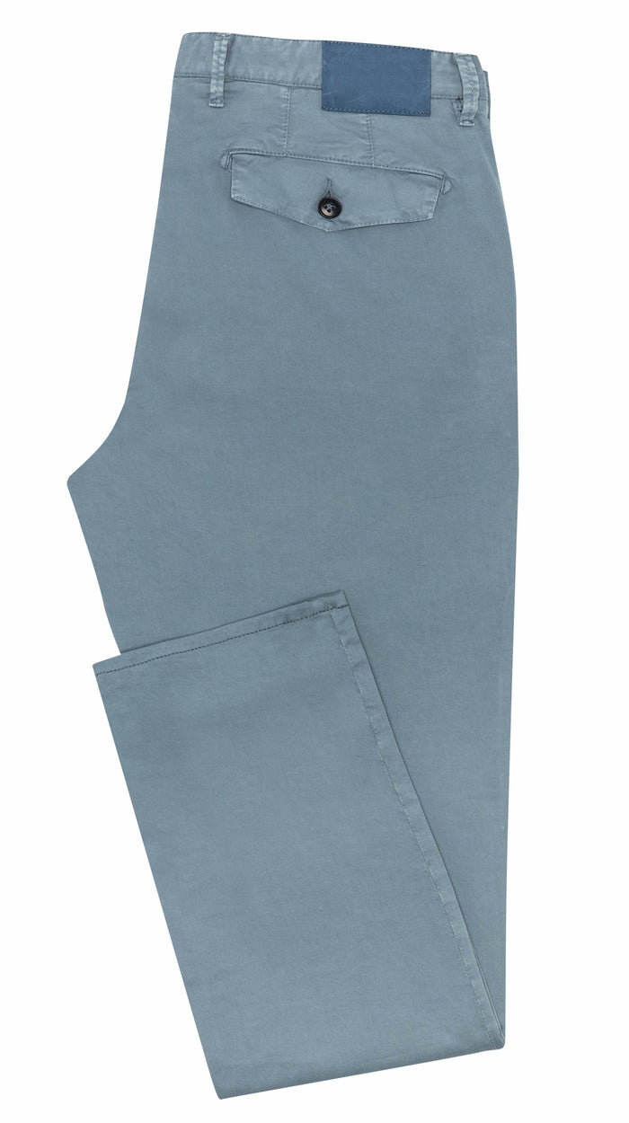 SLATE BLUE STRETCH CHINO