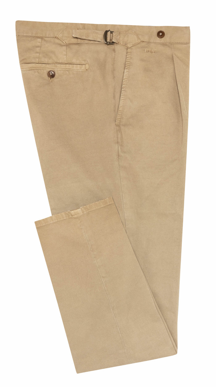 KHAKI STRETCH CHINO